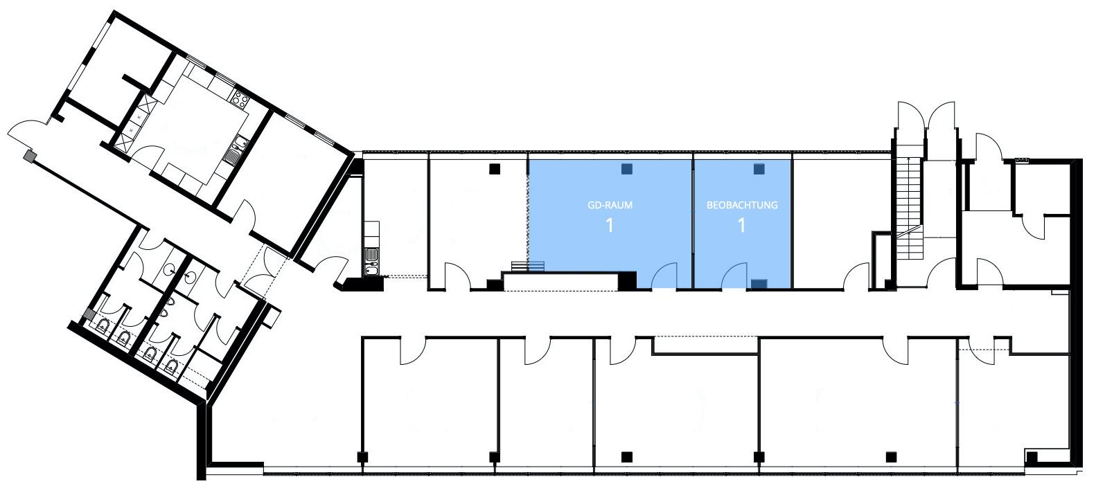 iTEMS Grundriss: GD-Raum 1